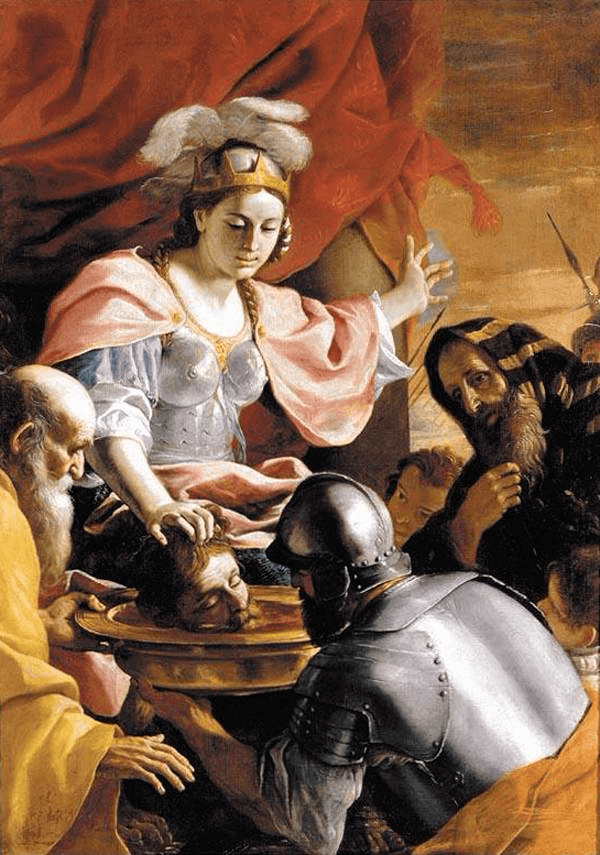 Cyrus the Great - Queen Tomyris Receiving the Head of Cyrus (1670-72)
