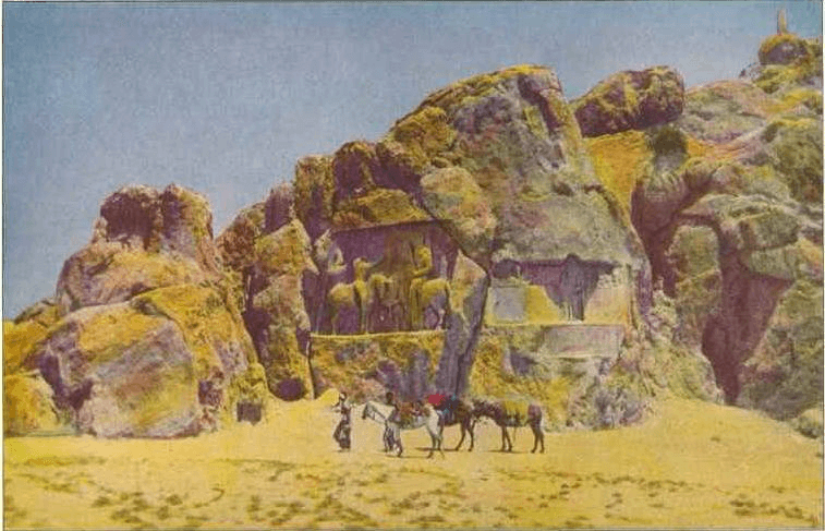 Structures - Naqsh-e Rastam Photo (1921)