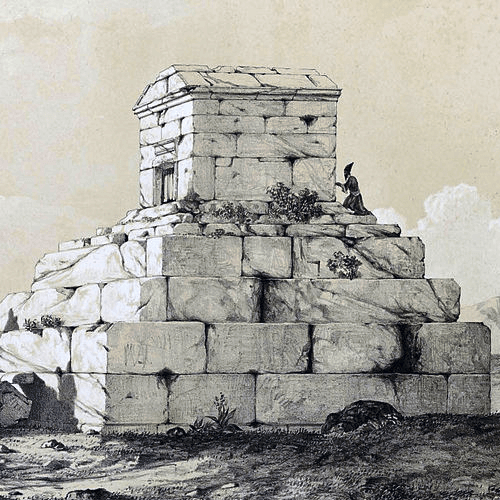 Achaemenid Structures - Tomb of Cyrus the Great